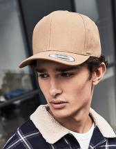 6-Panel Curved Metal Snap Cap